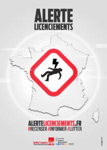 CGT: AlerteLicenciements.fr, un nouvel outil pour recenser les licenciements